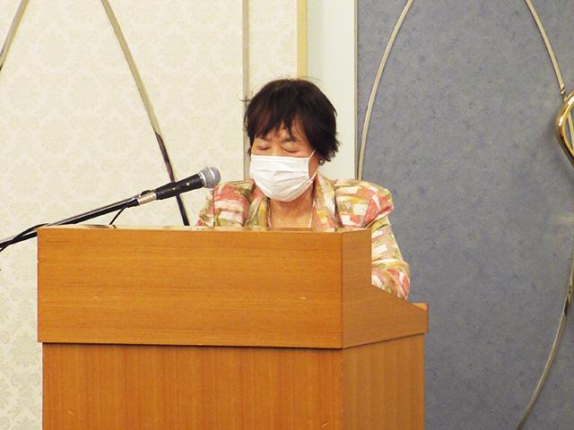 鈴木会長が仙台市立中学校長会で大会の説明を行いました。
